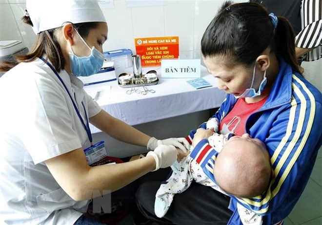 Hơn 4,28 triệu trẻ em sẽ được tiêm bổ sung vắcxin sởi-rubella