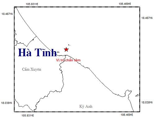 Hà Tĩnh: Tiếp tục xảy ra động đất, nhà cửa rung lắc, người dân tháo chạy trong đêm