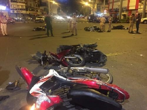 Nữ tài xế lái xe BMW gây tai nạn liên hoàn làm 1 người chết, nhiều người bị thương có nồng độ cao gần gấp 4 lần so với quy định