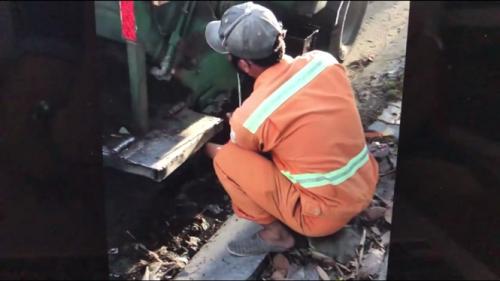 Đà Nẵng: Công nhân môi trường lén xả nước rỉ rác xuống cống bị xử lý kỷ luật