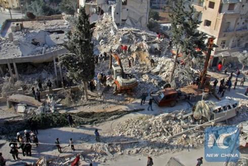41 dân thường Syria thiệt mạng trong các cuộc không kích do liên quân do Mỹ dẫn đầu