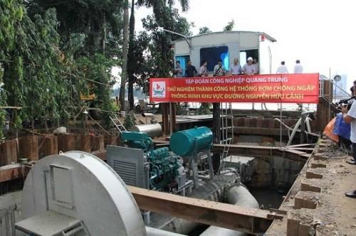 UBND TPHCM chốt giá thuê dịch vụ siêu máy bơm chống ngập trên đường Nguyễn Hữu Cảnh gần 10 tỷ đồng mỗi năm