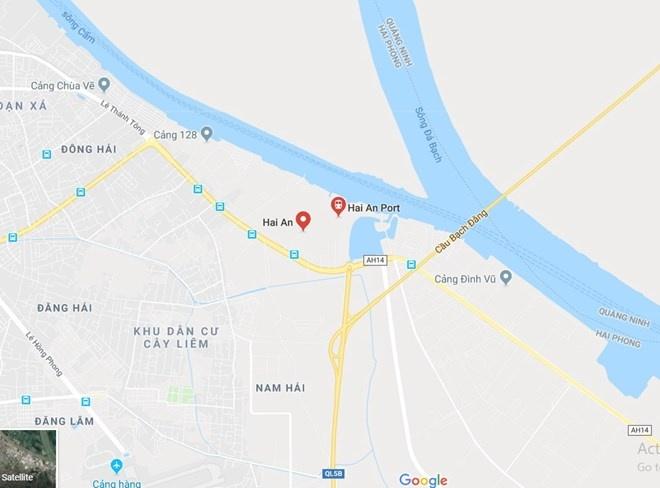 Hải Phòng: 1 thủy thủ nước ngoài tử vong trên tàu khi cập cảng Hải An