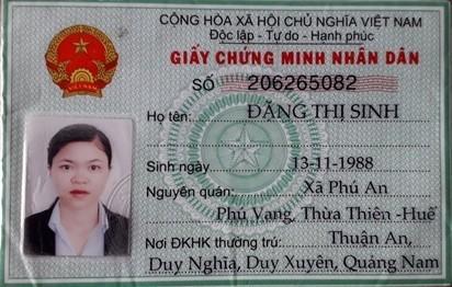 Chân dung nữ quái lừa đảo chiếm đoạt tài sản trên địa bàn tỉnh Quảng Nam và các tỉnh lân cận với tổng số tiền trên 11 tỷ đồng