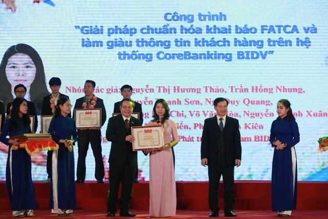 28 công trình, sản phẩm nhận Giải thưởng 'Tuổi trẻ sáng tạo' toàn quốc