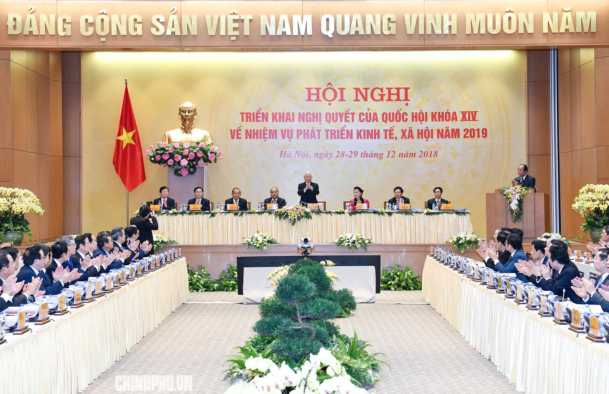 dau an chi dao dieu hanh cua chinh phu nam 2018