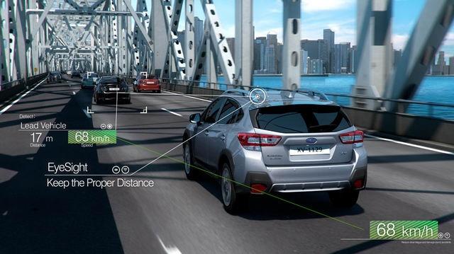 Công nghệ Subaru EyeSight đã đến Đông Nam Á