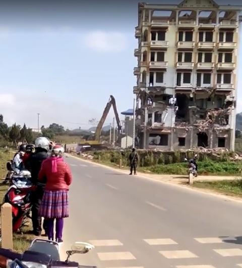 Sơn La: Cương quyết phá hủy tòa nhà của 'trùm ma túy' Tàng Keangnam