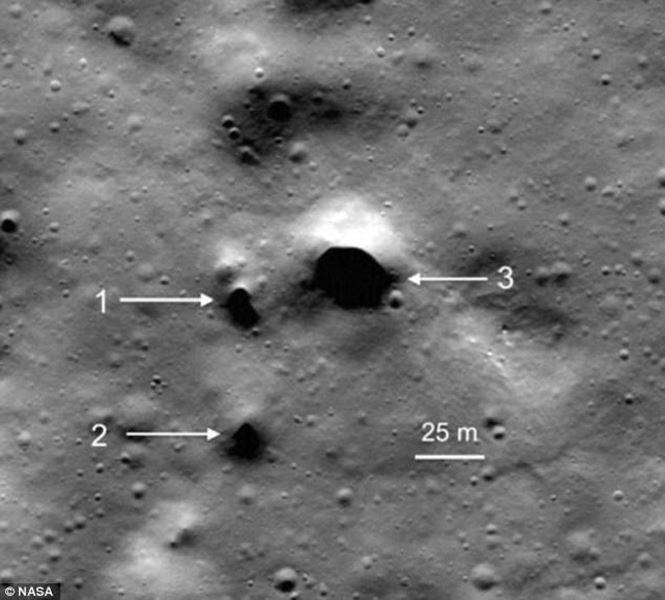 NASA phát hiện nguồn nước ngầm trên Mặt Trăng