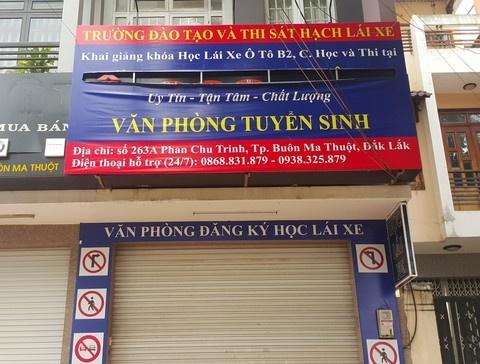 Đắk Lắk: Nhiều người bị sập bẫy sau khi đăng ký học lái xe ở trung tâm đào tạo và thi sát hạch 'dởm'