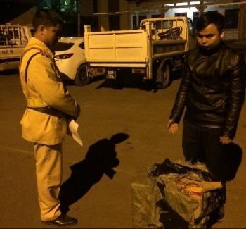 bac giang 2 doi tuong van chuyen trai phep 48 kg phao bi bat giu