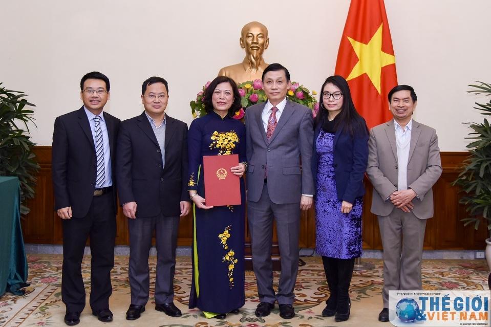 Nhân sự mới Bộ Ngoại giao, Văn phòng Chính phủ