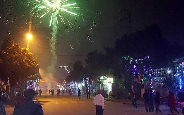 Hà Tĩnh: Công an xử lý nhiều trường hợp nổ pháo đêm giao thừa