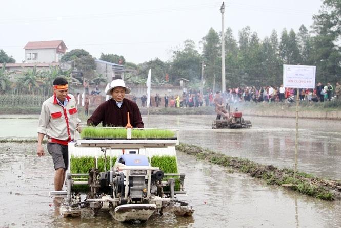 Thái Nguyên: Rộn ràng Lễ hội xuống đồng đầu Xuân Mậu Tuất