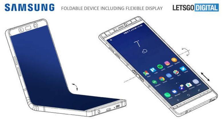 Samsung sẽ tung ra điện thoại gập được màn hình trong năm nay?
