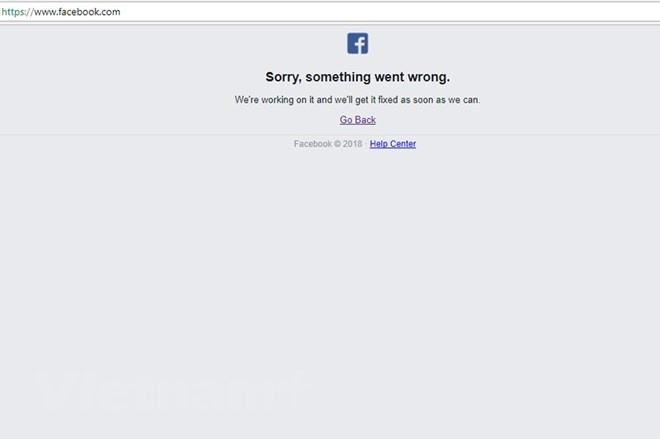 Mạng xã hội Facebook bất ngờ sập trên diện rộng, ảnh hưởng người dùng trên nhiều quốc gia