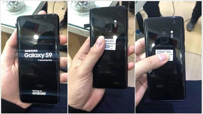 Galaxy S9 lộ ảnh thật, được cầm trên tay
