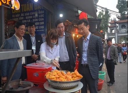 Hà Nội: Kiểm tra công tác bảo đảm ATTP tại khu vực phủ Tây Hồ