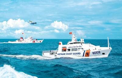 Quy định lực lượng tuần tra, kiểm soát của Cảnh sát biển Việt Nam