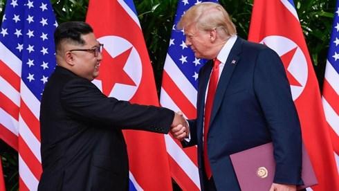 Tổng thống Trump: Không vội vàng trong việc phi hạt nhân hóa Triều Tiên
