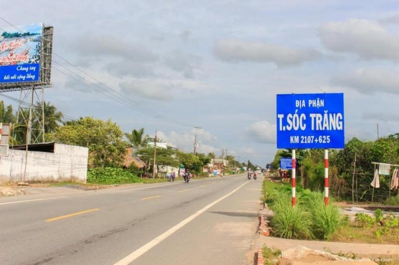 Nâng cấp quốc lộ 1 từ Hậu Giang đến Sóc Trăng