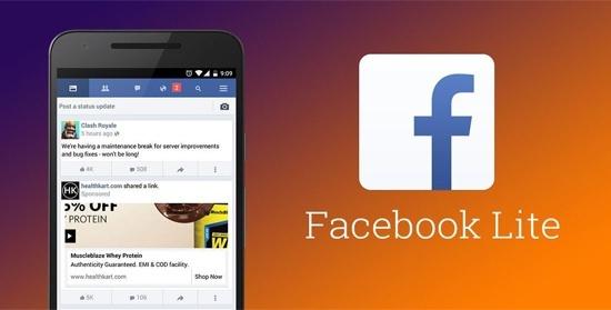 facebook lite chinh thuc trien khai tai cac nuoc phat trien