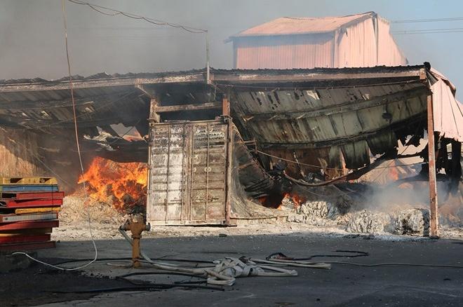 Đồng Nai: Cháy khu nhà xưởng rộng hơn 1.000 m2