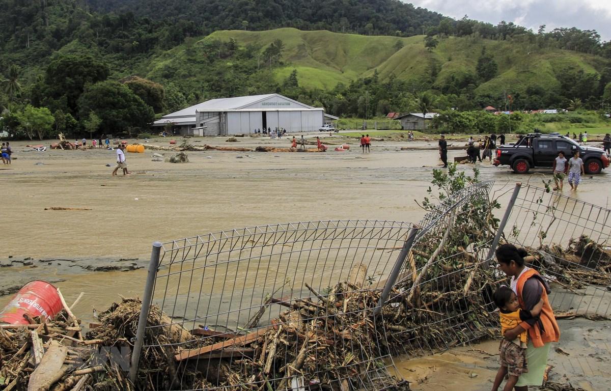 Indonesia: Gần 90 người thiệt mạng do lở đất và lũ quét