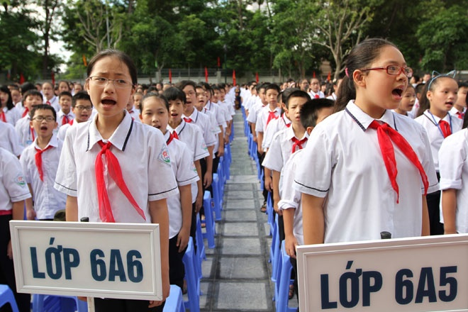 Quy định mới về tuyển sinh lớp 6 được thực hiện từ 15/4/2018
