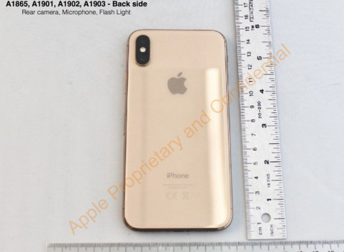 he lo phien ban iphone x blush gold