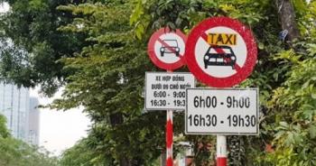 tp ha noi khong go bien cam taxi o 11 tuyen pho