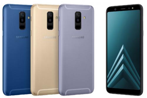 Samsung Galaxy A6 và A6+ sẽ bán ra chính thức vào 26/05 với giá chỉ 6,9 triệu đồng