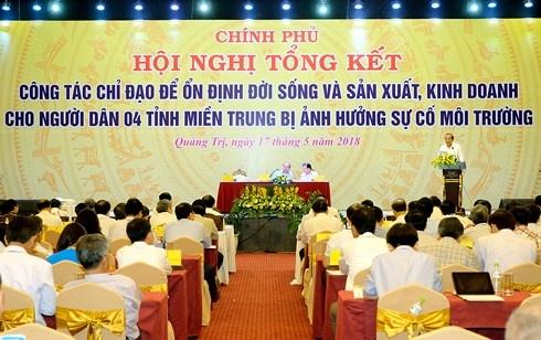 thu tuong chi dao giai phap on dinh doi song 4 tinh mien trung sau su co moi truong bien