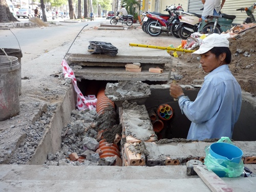 TPHCM ban hành kế hoạch ngầm hóa lưới điện kết hợp ngầm hóa cáp viễn thông giai đoạn 2018 – 2020