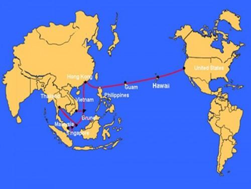 Kết nối quốc tế bị ảnh hưởng gần 2 tuần do cáp quang biển AAG gặp trục trặc