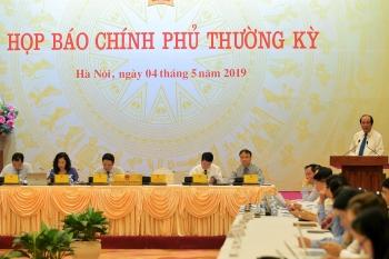 noi dung hop bao chinh phu thuong ky thang 4