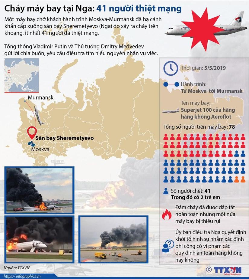 infographics chay may bay tai nga hon 40 nguoi thiet mang