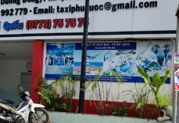 vu pho giam doc hang taxi no sung doa tai xe o phu quoc phat 3 trieu dong tich thu khau sung