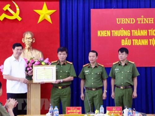 Quảng Ninh: Thưởng nóng lực lượng phá đường dây vận chuyển gần 24 kg ma túy