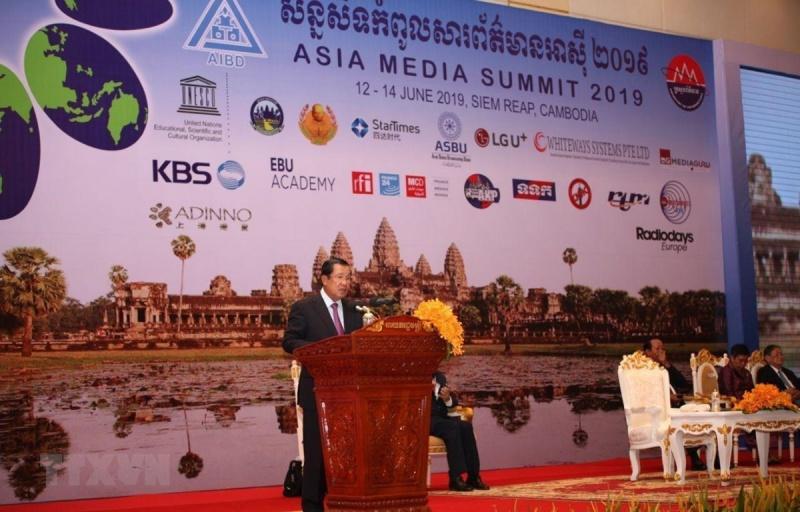 Campuchia tổ chức Hội nghị Thượng đỉnh Truyền thông châu Á