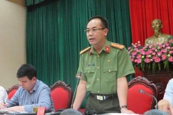 cong an tp ha noi chinh thuc thong tin ve vu tu thieu truoc tru so tiep dan