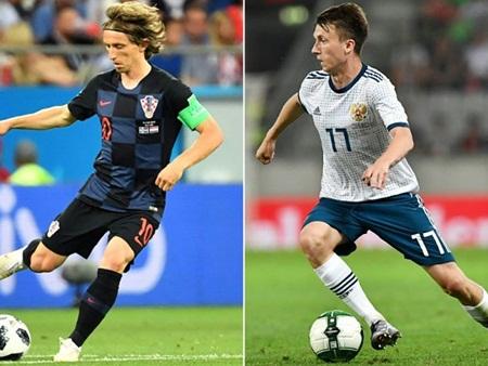 Lịch thi đấu trực tiếp trận tứ kết World Cup 2018