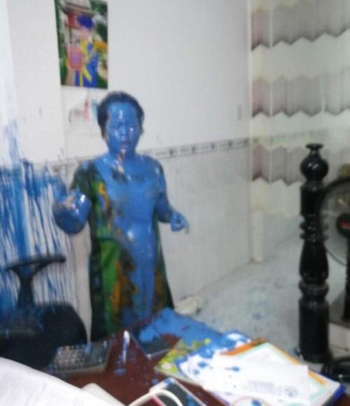Khánh Hòa: Công an vào cuộc điều tra vụ nữ giám đốc bị tạt sơn