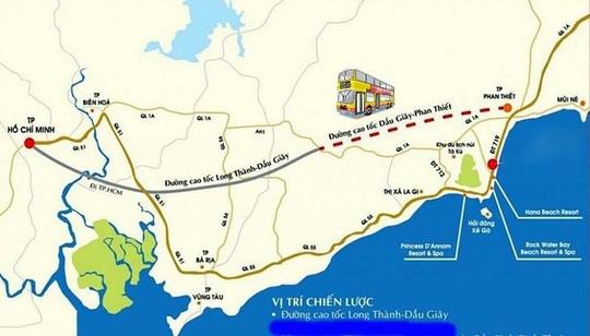 Khung chính sách hỗ trợ tái định cư dự án cao tốc Phan Thiết-Dầu Giây