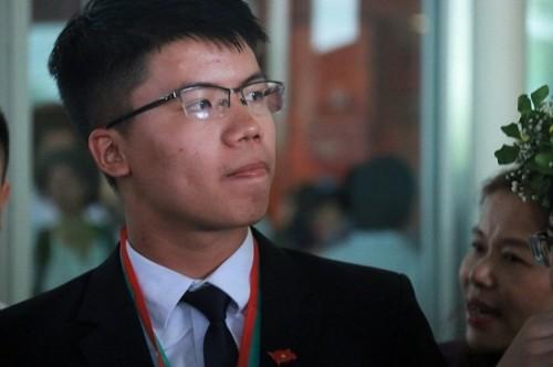 Nguyễn Ngọc Long, 'chàng trai vàng' của Olympic Vật lý quốc tế