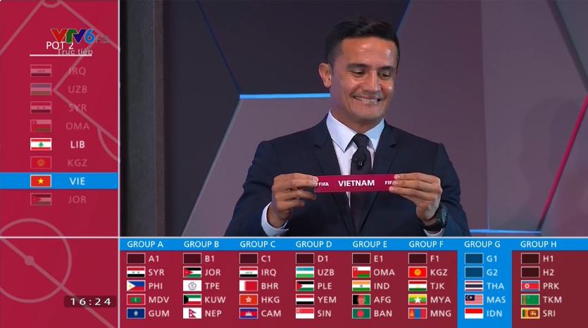 doi tuyen viet nam cung bang voi 3 doi bong dong nam tai vong loai thu 2 world cup 2022