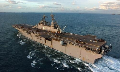 Mỹ tuyên bố bắn hạ máy bay không người lái của Iran ở vùng Vịnh