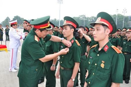 Mức điểm nhận hồ sơ xét tuyển các trường quân đội năm 2019