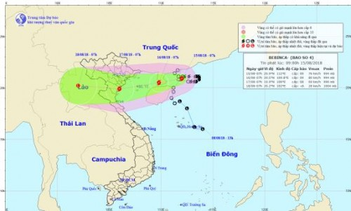 Chuyên gia lý giải nguyên nhân khiến bão số 4 liên tục đổi hướng di chuyển