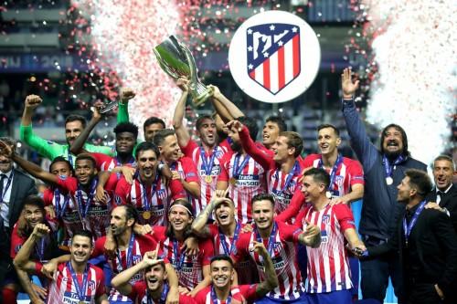 Atletico Madrid lần thứ 3 giành Siêu cúp Châu Âu